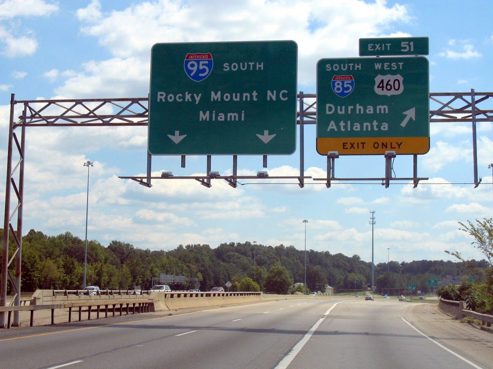 highway Virginia Utara