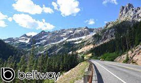 Route 900 Washington Jalan Pegunungan Alpen