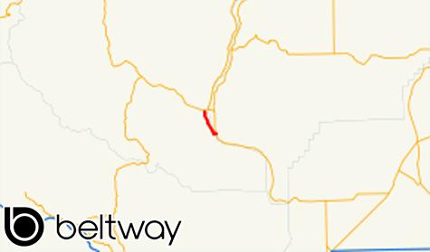 Rute Negara Bagian Washington 285 Wilayah Douglas dan Chelan